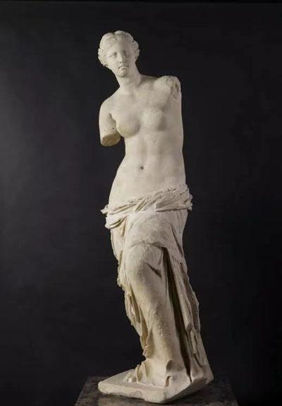 卢浮宫所藏《米洛的维纳斯》雕像便使用了古希腊围毯
