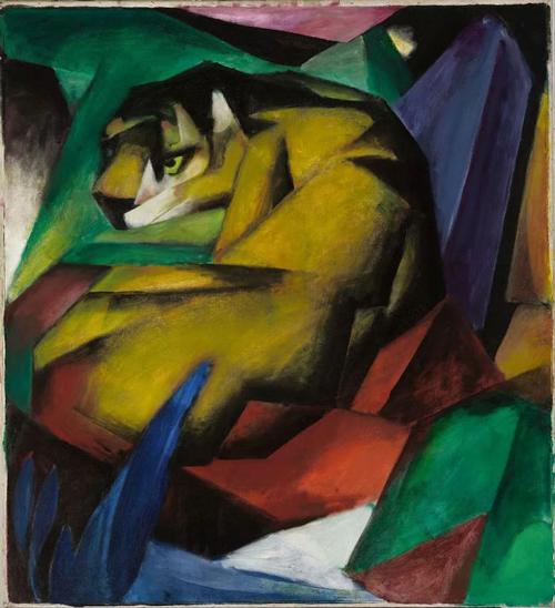 Der Tiger, The Tiger (1912) Lenbachhaus