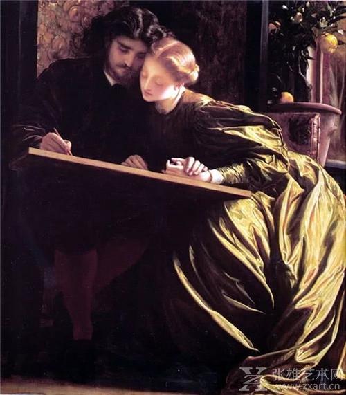 他的作品被称为英国皇家学院派的代名词