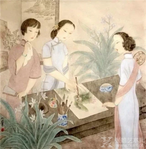 她的画,让人看到了女性自爱、自信和自重