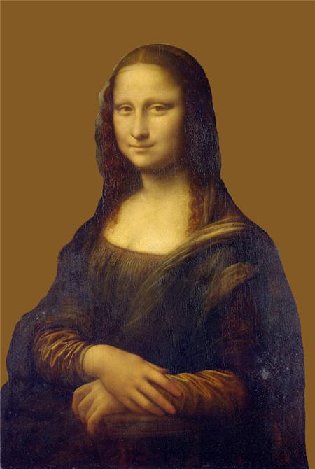 我们以一幅举世闻名的文艺复兴时期绘画作品:达芬奇的《蒙娜丽莎》为图片
