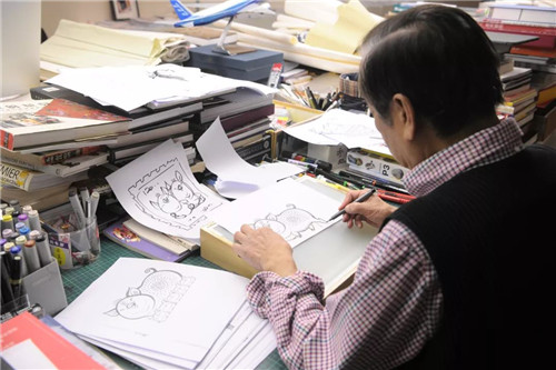 """韩美林:""""我的画室,几乎成了'养猪场'"""""""