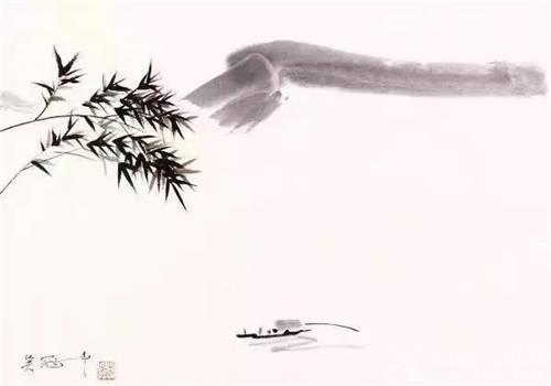 吴冠中的江南梦,从小小的船牵萦开去
