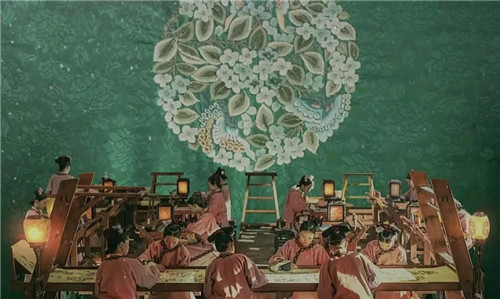 《延禧攻略》里霸屏的刺绣之美,古美术拍场也能欣赏得到!