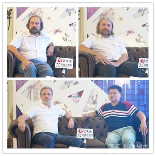 张雄艺术网踏上新征程——俄罗斯分站正式成立