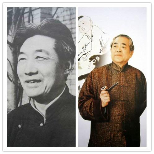 范曾为徐悲鸿补画 两代艺术大家的神交