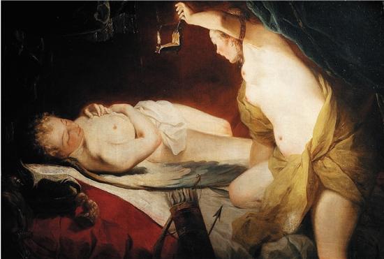 彼得·保罗·鲁本斯 丘比特与普塞克 129×178cm 布面油画 贝利尼家族收藏
