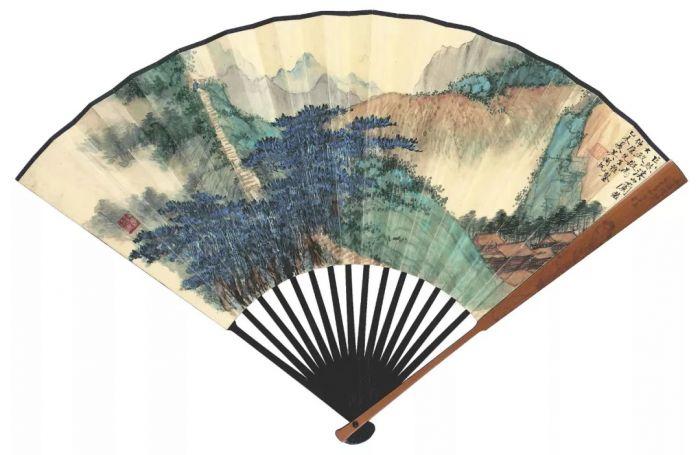 香港苏富比秋拍之吴湖帆画卷扇面