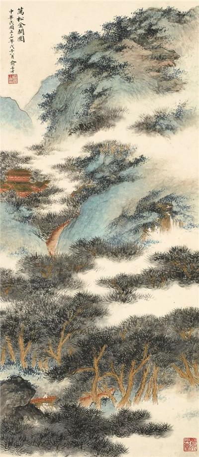 香港苏富比秋拍——吴湖帆画卷扇面