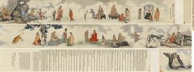 吴彬万历辛亥(1611)作《十二尊者相》