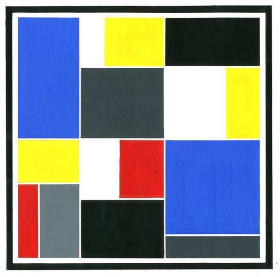 抽象艺术无门槛,人人都有画抽象画的天赋,但是台阶很高,登顶更是凤毛麟角。