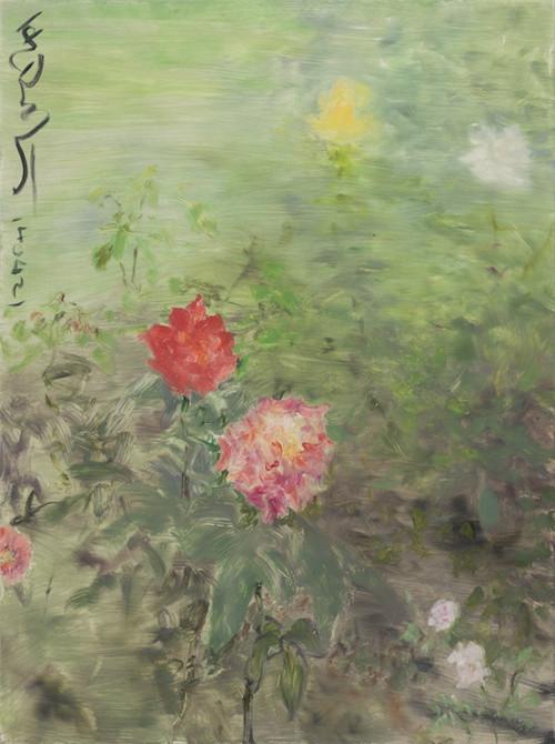 《杂花写生NO.4-24》,何多苓,油画