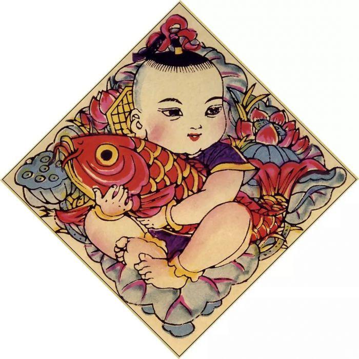 · 连年有余 杨柳青年画 ·