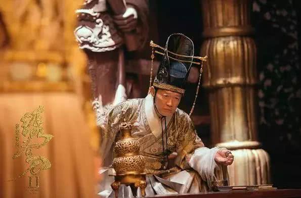 金士杰在《绣春刀·修罗战场》里饰演的魏忠贤