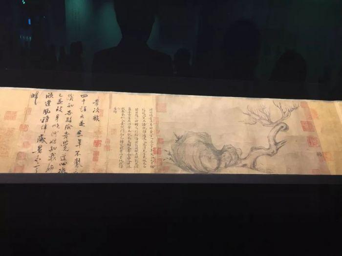 苏东坡,《木石图》,是今秋香港佳士得最受藏家关注的作品。