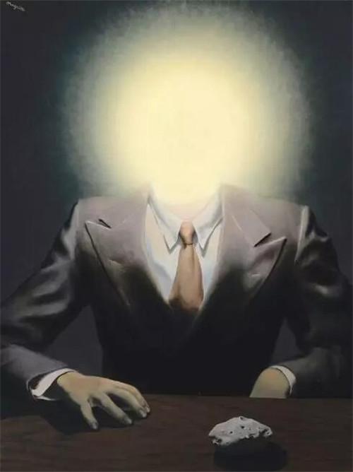 雷內·玛格利特,《快乐原则》,油彩画布,73 x54.5cm,1937