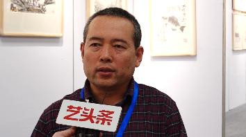 当代文人画代表画家马金辉参加佛山市第十四届秋季艺术博览会