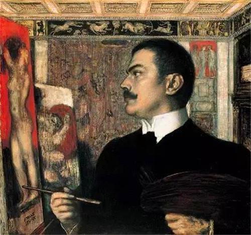 """弗朗茨·斯塔克用诡异的画风""""赢""""得你的心"""