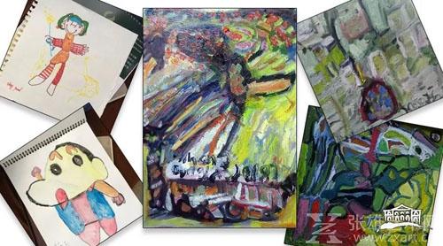 道格的书法和绘画作品