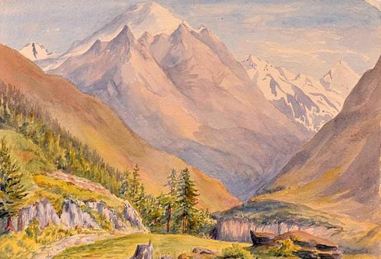 希特勒年轻时所作的三幅水彩画上拍