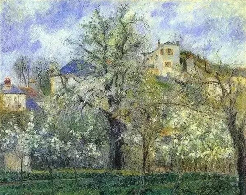 画家们是怎样用手中的画笔描绘春色的?