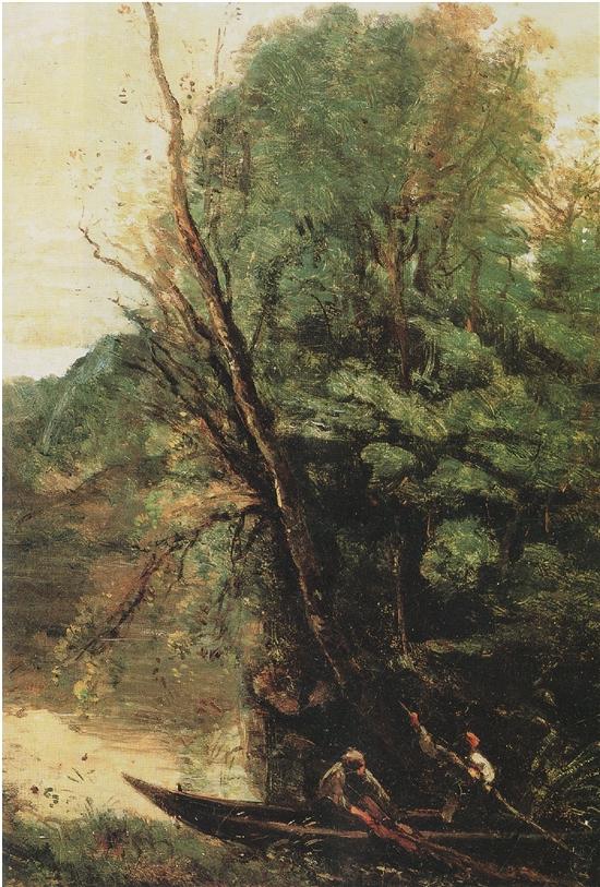 """法国著名画家柯罗""""任性""""的风景画"""