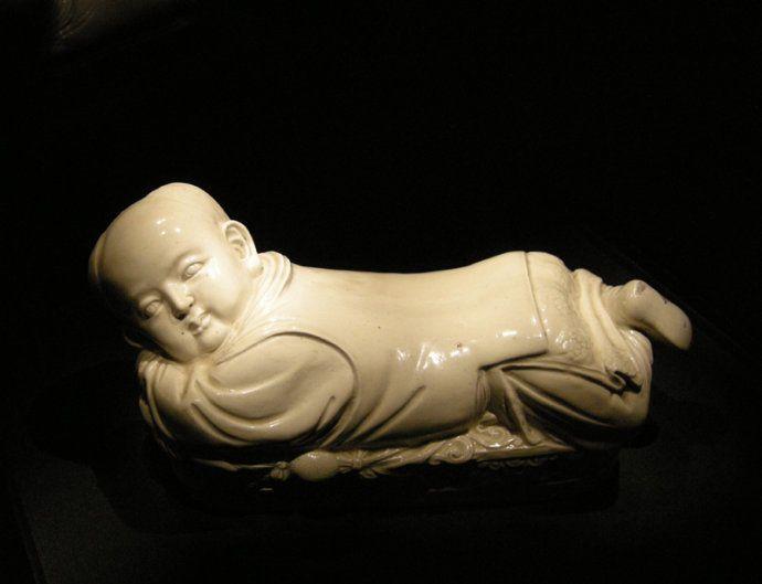 北京故宫孩儿枕