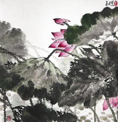画家杨春生:焦淡之间写就万物意趣