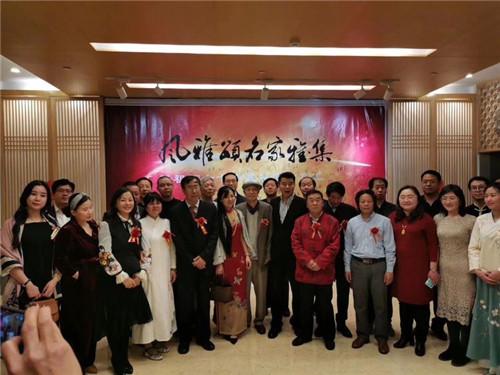 著名艺术家张东林画展在北京饭店隆重举行