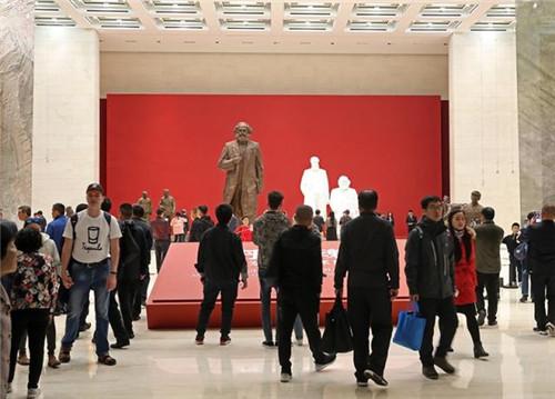 吴为山百余件人物雕塑亮相中国国家博物馆