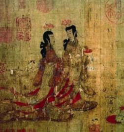 魏晋时期以形写神的人物画
