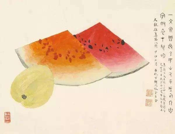 秋霞在线观看秋里的西瓜:花衫唾碧玉 丹血掐肤红