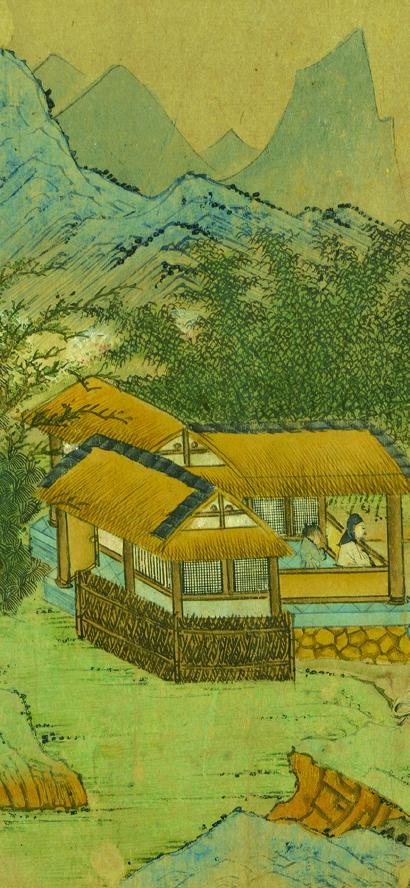 多少艺术灵感源自于江南山水?