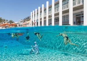 水下艺术展:不一样的视觉盛宴