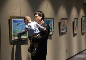 杰比尔小画家跨年展开幕
