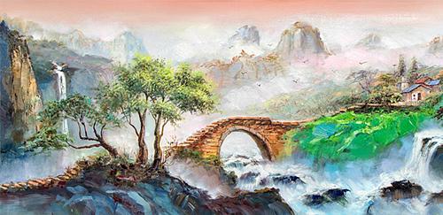 赖天民油画艺术