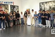 《隐匿的忧伤——雯雯作品展》亮相京城