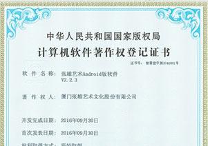 """喜获""""国家计算机软件著作权登记证书"""""""