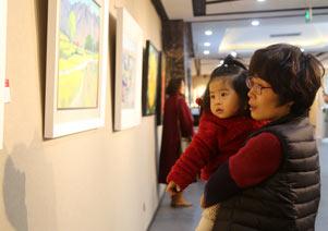 省收藏文化协会第二届迎春书画展