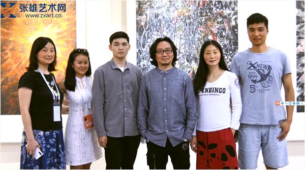 """钟波当代水墨作品展于""""艺术西湖·第二届国际水墨博览会""""精彩呈现!"""