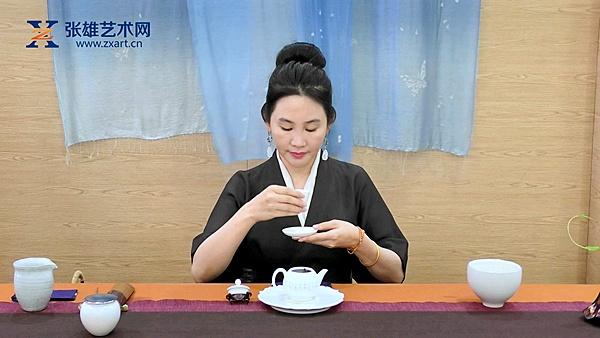 林芸安老师2019文博会茶艺表演