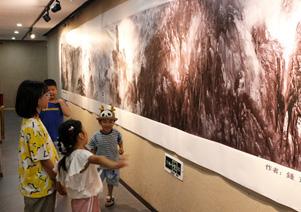 著名画家钟京先生八十寿辰师生作品巡展
