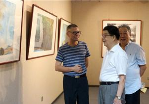 军旅画家杨幸郎中国画精品展精彩开幕