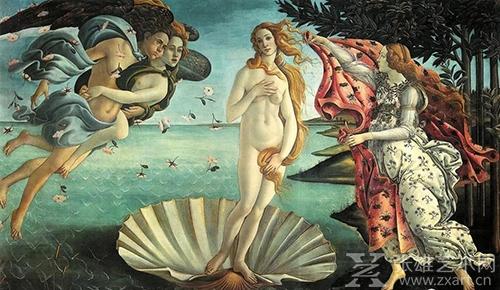 波提切利《维纳斯的诞生》