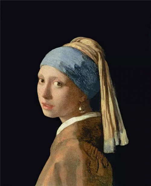 Girl with a Pearl Earring,Johannes Vermeer,1665